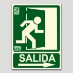Cartel de emergencia