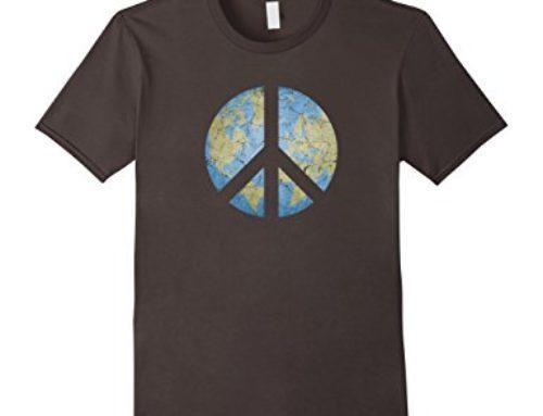 Camisetas para celebrar el Día de la Paz