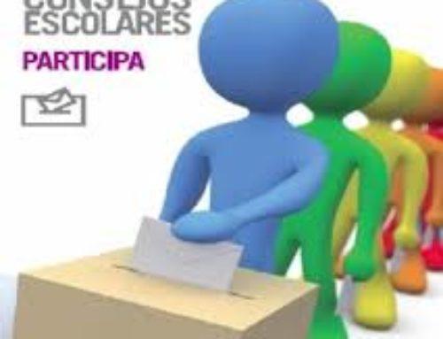 Candidaturas al Consejo Escolar