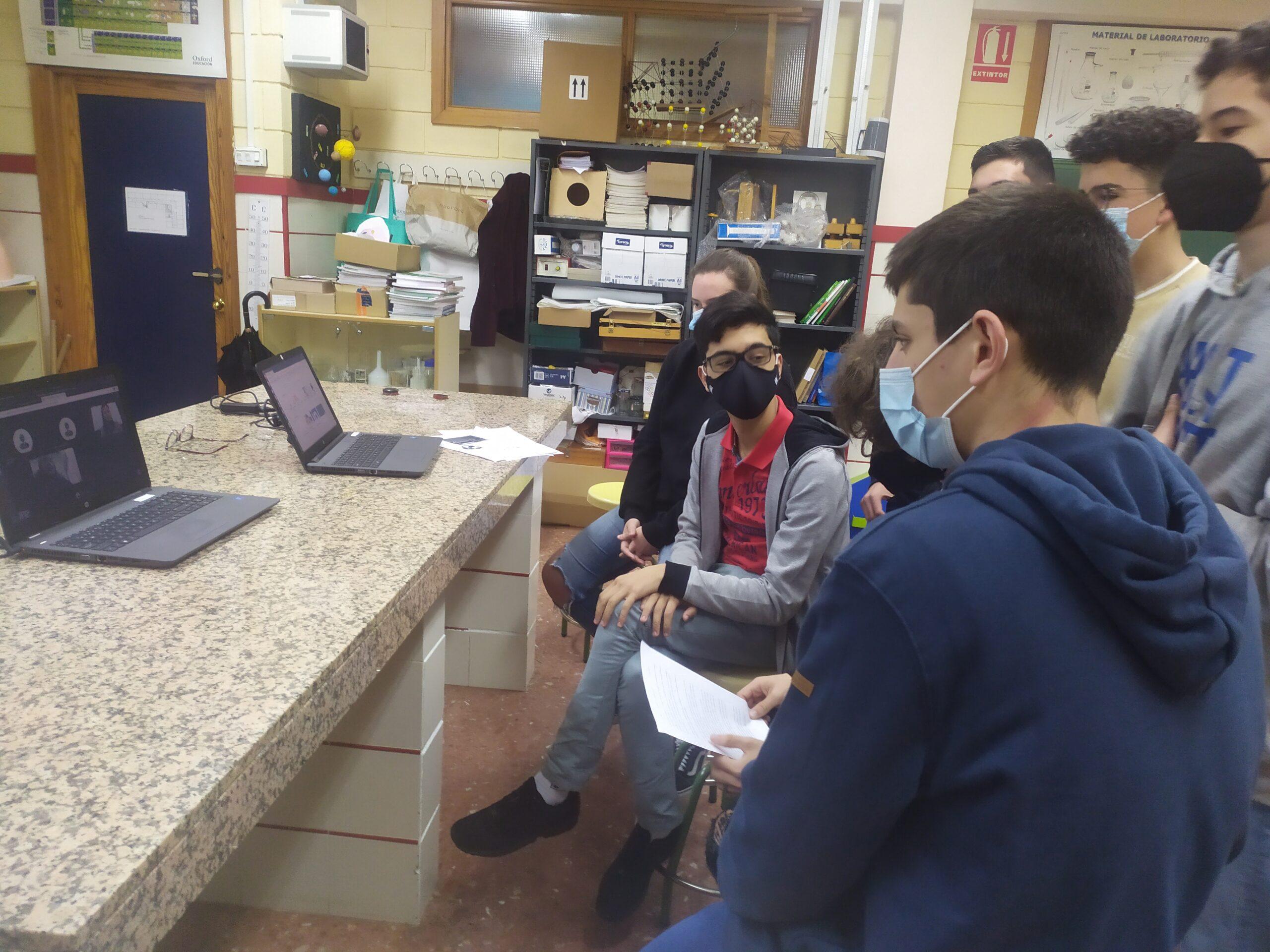 Alumnos de 4º de ESO en las II Olimpiadas de Ciencias Ambientales