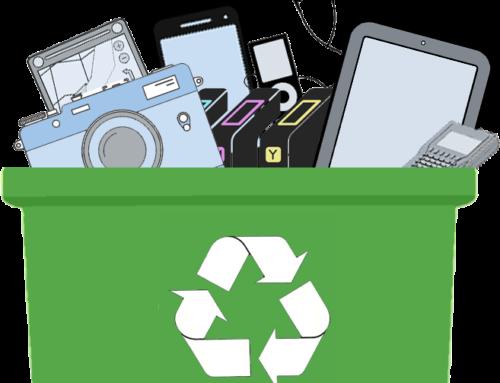 Campaña de reciclado electrónico
